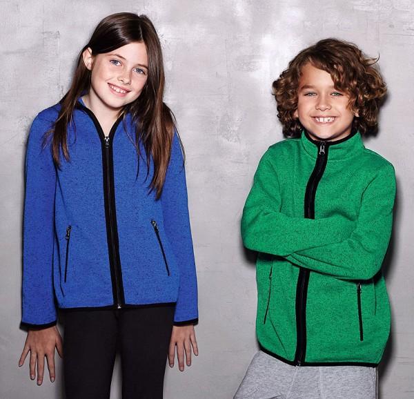 blue melange + green melange