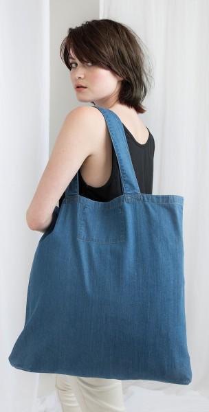 Große Denim Tasche